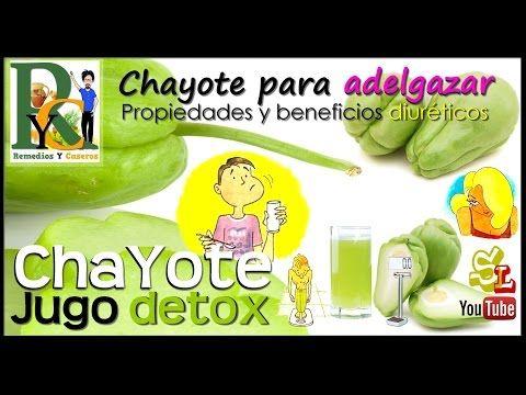 Recetas para adelgazar con chayote nutrition