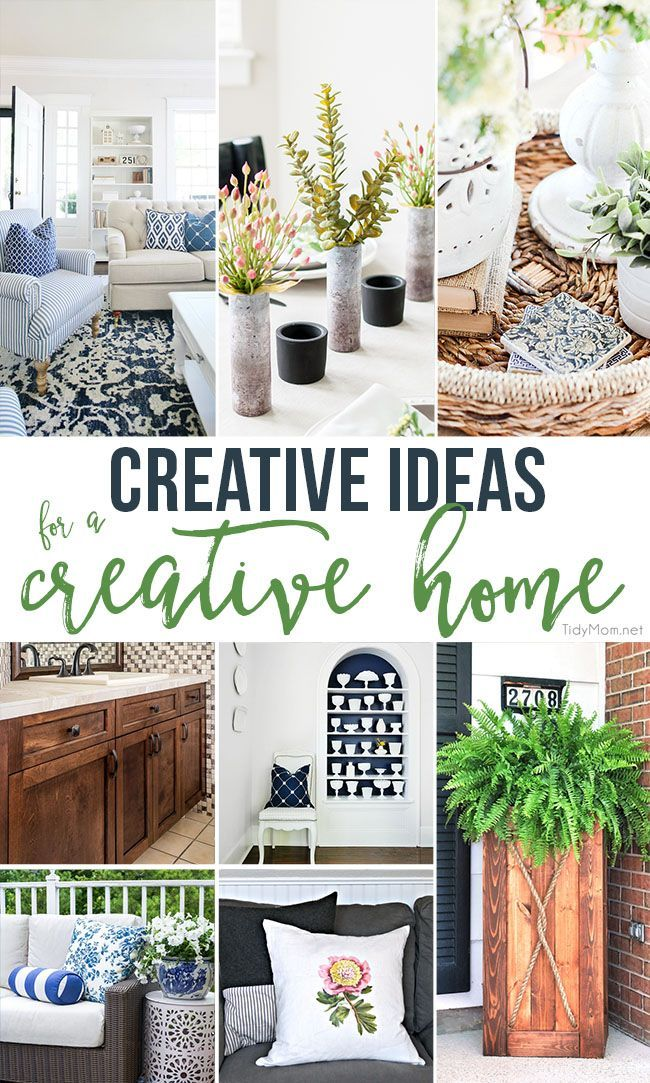 If Youu0027re Looking For Ways To Make Your Home More Special, More Attractive  Or Just More Fun........ These Creative Ideas For A Creative Home Are Sure  To Get ...