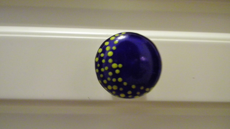 Hand Painted Kitchen Knobs