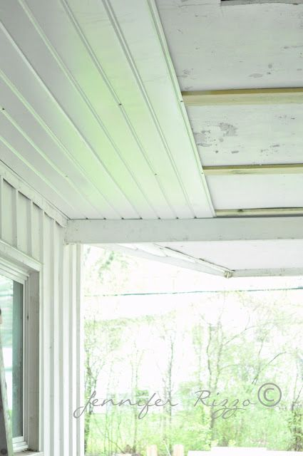 renewing a porch ceiling with fascia - Outdoor Patio Ceiling Ideas