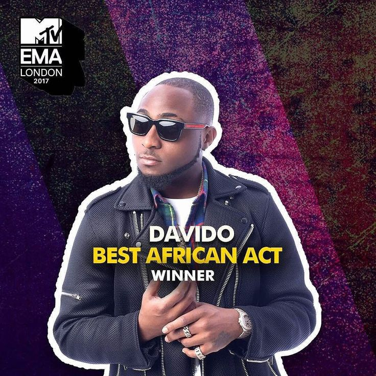 """Nigerian musician Davido today won the Best African Act award at the 2017 MTV Europe Music Awards in London. He was nominated in the Best African Act category alongside South Africas Babes Wodumo & Nasty C Angolas C4 Pedro Kenyas Nyashinksi and others. Congrats to him! """"IM ON FiAA!! Thank you everybody. THIS IS FOR YOU MOM! #majmlblog #followforfollow #majml #followback #News"""