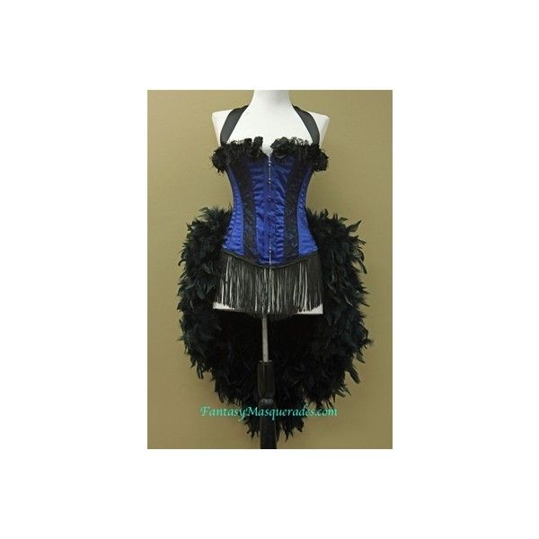 Moulin Rouge Costume Burlesque Costume Showgirl Costume (72 AUD) ❤ liked on Polyvore featuring costumes, burlesque, corset, showgirl costume, burlesque costumes, showgirl halloween costume, burlesque halloween costumes and can can dancer costume