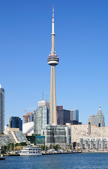 CN Tower; been as high as you could go many years ago.  Would be petrified now! LOL
