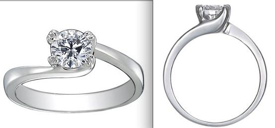 White Gold Seacrest Ring
