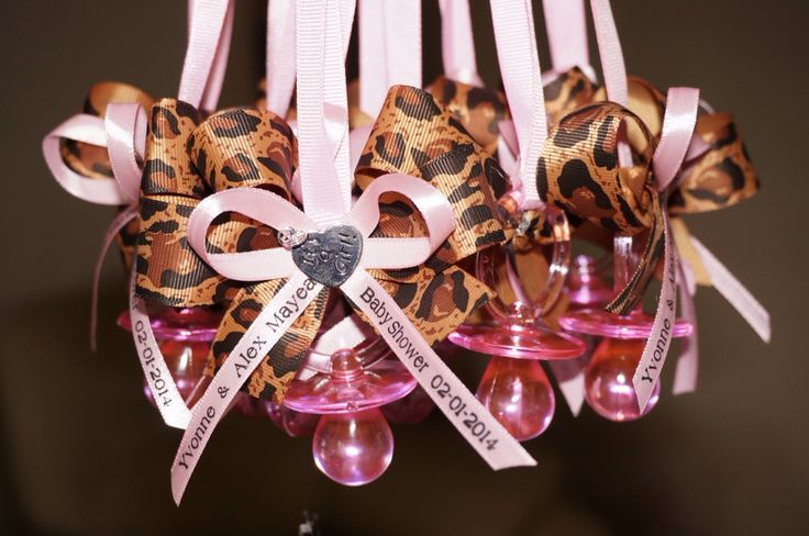 Pink+and+leopard+Baby+Shower+Pacifier+by+MarcenariPartyDecor