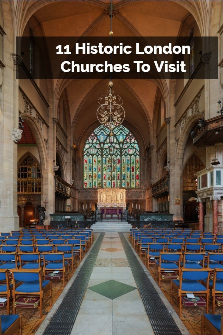 Historic London churches are some of the best showcases of the capitals history, culture and character. They are places popular with all tourists, regardless of their interest in religion. Here is a handy guide that details eleven of the best churches to