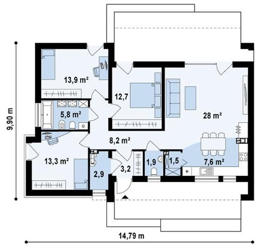 http://extradom.pl/projekt-domu-zx53-WAE1285