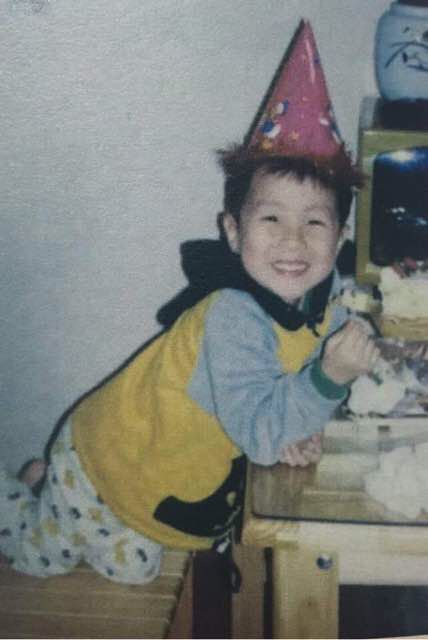 J-Hope when he was younger.