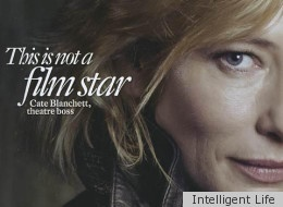 More reasons to love Cate Blanchett - she's not photoshopped on this cover.
