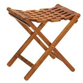 Folding Teak Mosaic Stool by Bare Decor. Folds for easy storage and transportation. Lightweight and is perfect for indoor/outdoor use and special occasions like outdoor festivals, parades, fishing, or just in the backyard. Folded Dim: 14.5″x 25.5″ x 6″ Dimensions: 18″W x 13.5″L x 19″H Product Features Open slots on top allow for water to […]