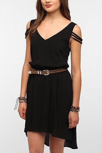 Sparkle & Fade High/Low Strappy Dress