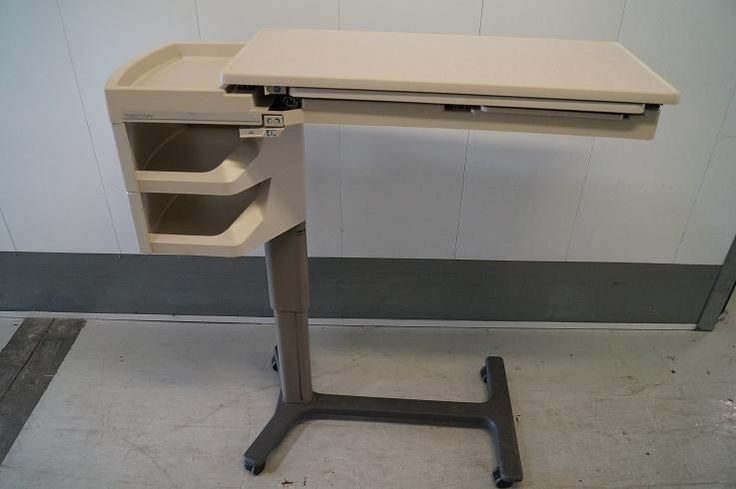 Hill Rom Patient Mate Overbed Table Model 634 2 Need