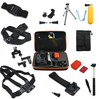 #Gopro hero camera accessories set case #monopod tripod mount chest head #strap n,  View more on the LINK: 	http://www.zeppy.io/product/gb/2/182329951178/