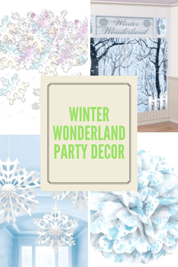 Sparkling Silver And White Snowflake Tableware And Decorations Including Snowflake Na Winter Wonderland Party Theme Winter Wonderland Party Christmas Tableware