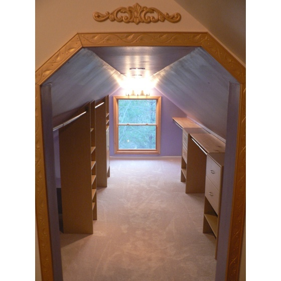 attic library ideas - 17 Best images about ATTIC CLOSET on Pinterest