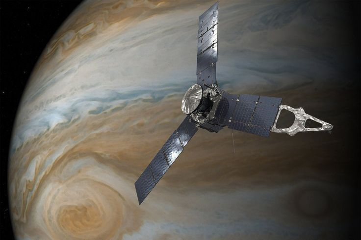 NASA's $1 billion Jupiter probe just sent back breathtaking new images of the gas giant