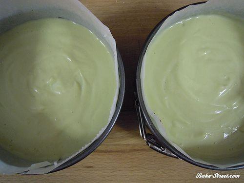 Cheesecake de aguacate y mermelada de cerezas - Bake-Street.com