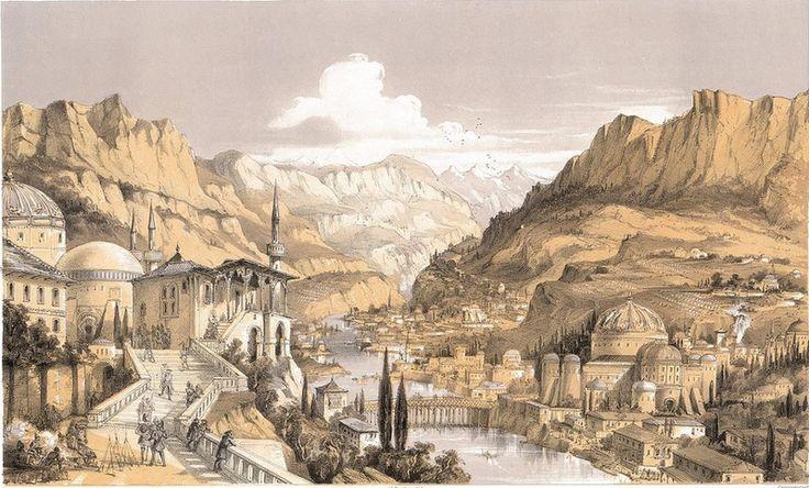 Бахчисарай. Т. Пакер. 1855 год