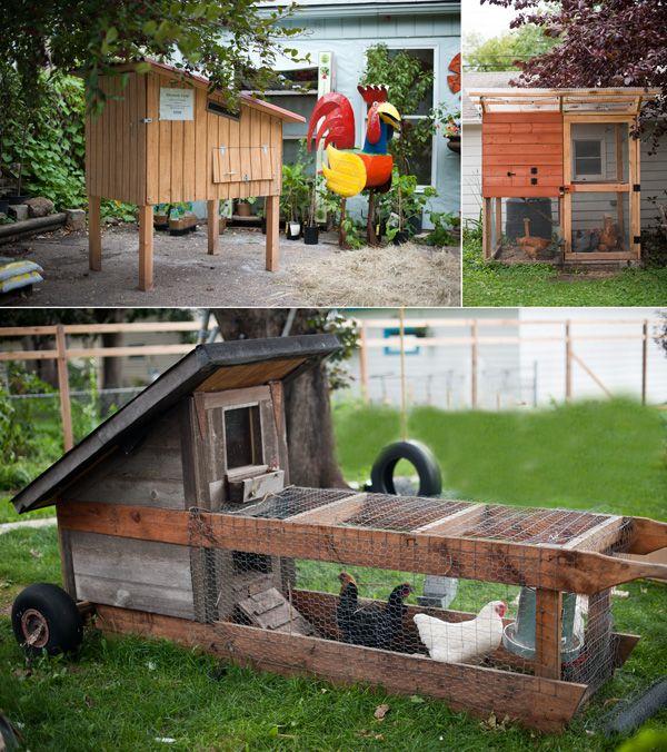 chicken tractor - cute but bigger