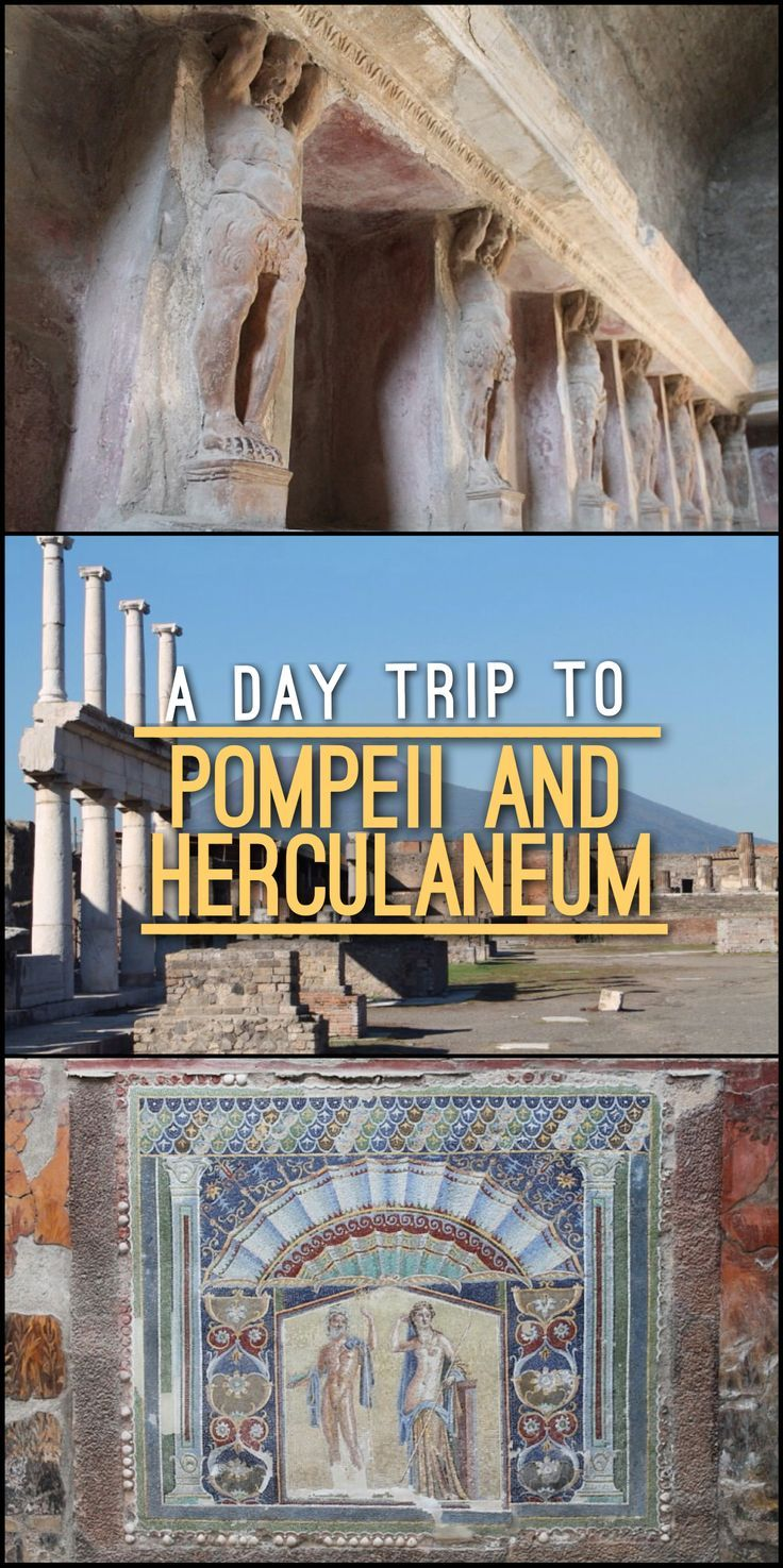A day trip to Pompeii and Herculaneum, Italy, is a great way to get a feel for the ancient Roman Empire. Here are all the details you'll need to see these two sets of ruins without taking a tour.:
