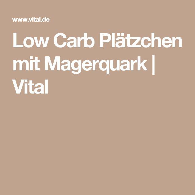 Low Carb Plätzchen mit Magerquark | Vital