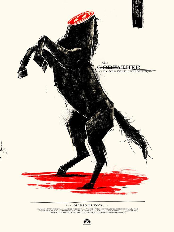 Marie Bergeron's The Godfather Winner of Filmdoo's Cannes Creativity Poster Competition | Geek Art – Art, Design, Illustration & Pop Culture ! | Art, Design, Illustration & Pop Culture !