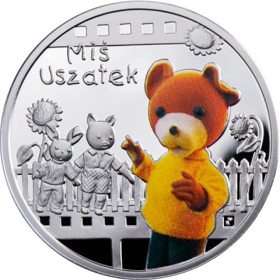 Ниуэ - 1 доллар 2010 - Мультфильмы. Мишка Ушастик Ag
