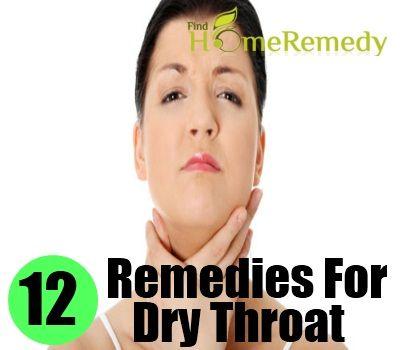 Excessive Dry Throat 12