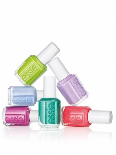 10 x Summer Makeup: Essie, summer colors 2013