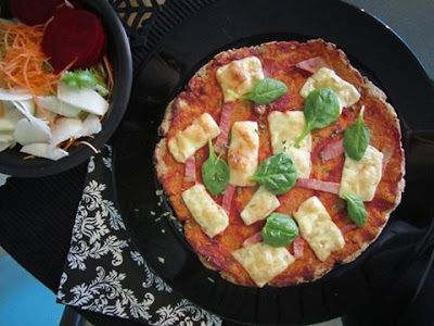 Tojásmentes pizzatészta