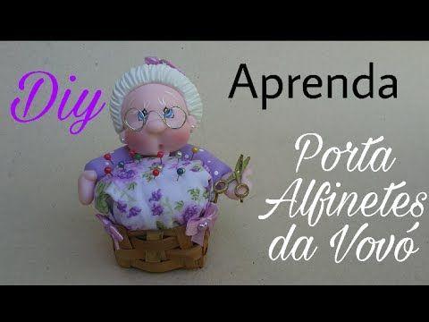 PORTA ALFINETE DA VOVÓZINHA