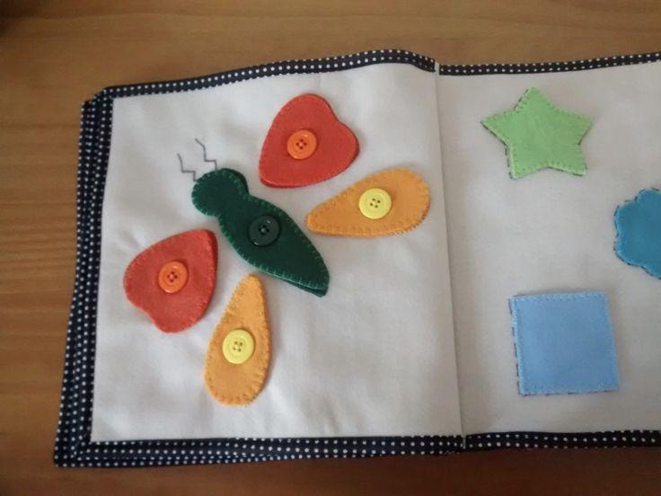 Quiet Book - Livro interativo em feltro para atividades pedagógicas   @ateliemadrica