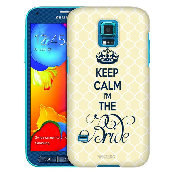 Samsung Galaxy S5 Sport Keep Calm I'm the Bride Trans Case