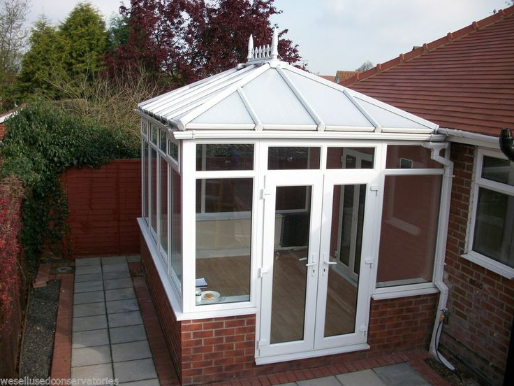 Used Pvcu White Upvc Conservatory 4010 mm x 3020 mm