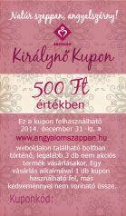 Királynő Kupon - ez még Titkos :)