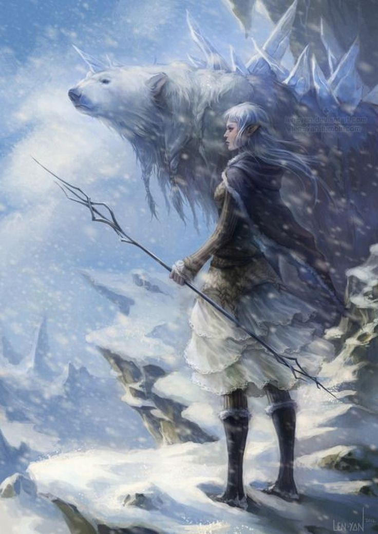 Dungeons and Dreamboats VII: Snow Elf, Mountain, Cold, Polar bear