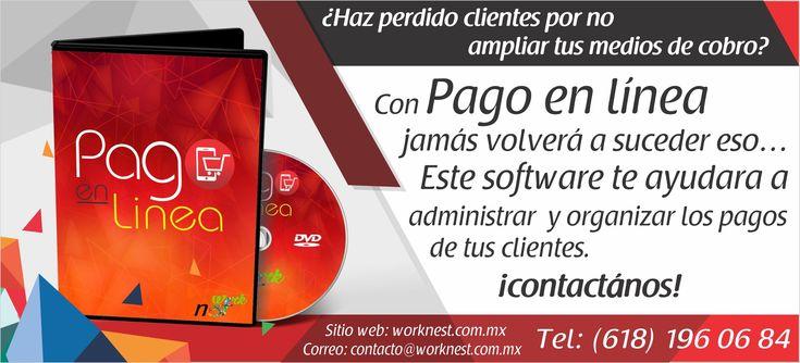 Pago En Linea Software Sitios Web Organizacion