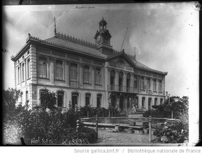 Martinique, Hôtel de ville [Fort de France] : [photographie de presse] / [Agence Rol] - 1