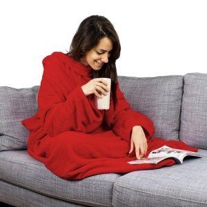 Hugz   Decke mit Ärmeln für gemütliche Erholung
