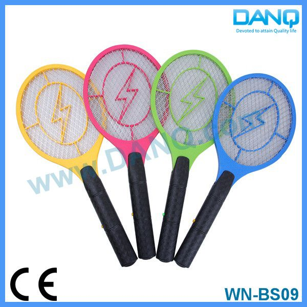 Three layers mosquito zapper, mosquito swatter, mosquito racket with CE-EMC