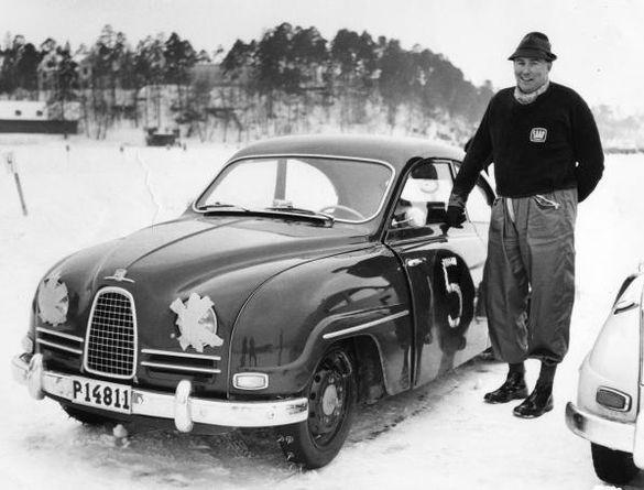 Erik Carlsson, swedish ice champion 1958.