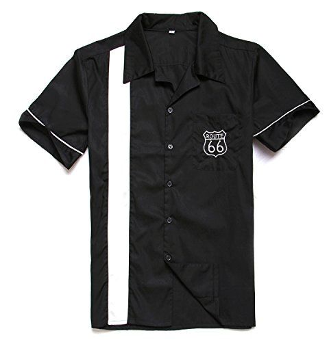 41 best my style images on pinterest men fashion men wear and guy route 66 embroidery bowling shirts 50s rock n roll mens r malvernweather Gallery