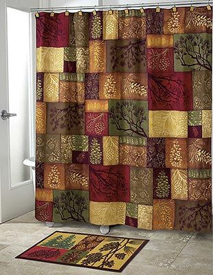 Captivating Avanti Linens Adirondack Pine Shower Curtain, Multi Avanti Is The Worldu0027s  Largest Decorative Towel And Bath Accessories Manufacturer Presents  Adirondack ...