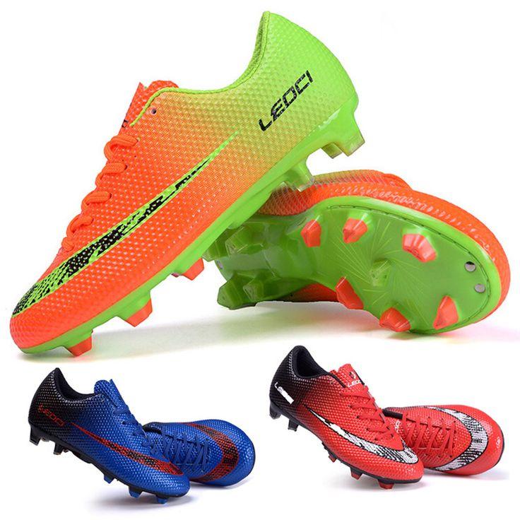 New FG Football Boots Cleats soccer Shoes mens football cleats boot  Chuteiras botas de futbol voetbalschoenen