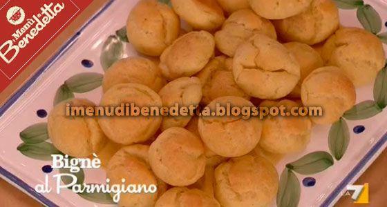 Bignè al Parmigiano di Benedetta Parodi