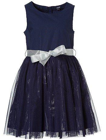 Vestido de ceremonia con enagua de tul Chica - Kiabi - 18,00€