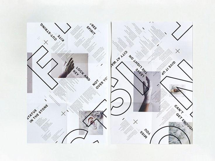layout design // source: dribbblepopular