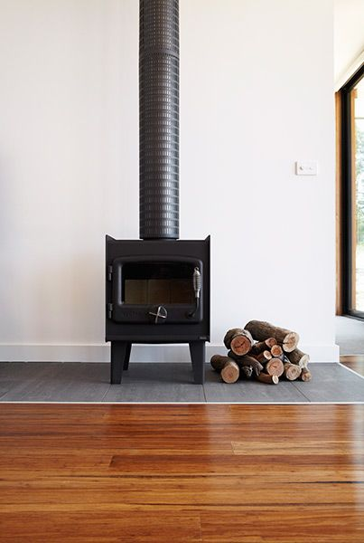 Nectre - the perfect compact wood heater. (Modscape design)
