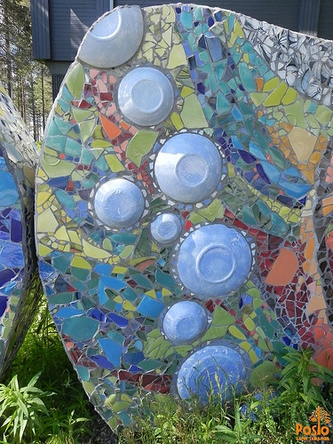 Bubbles, part of Posion Saaga mosaic work