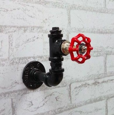 Add a little Industrial/Urban chic to your home with this unusual wall hook. Who wants boring wall hangers when you could have a real talking piece in your home...